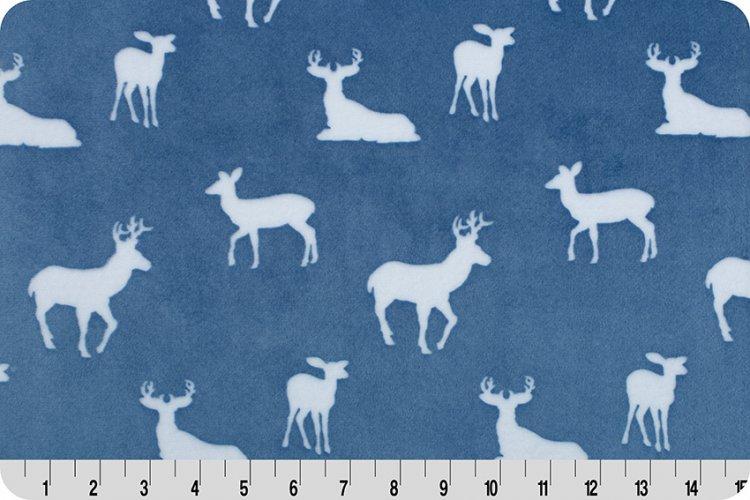 Premier Deer To Me Cuddle Blue 60