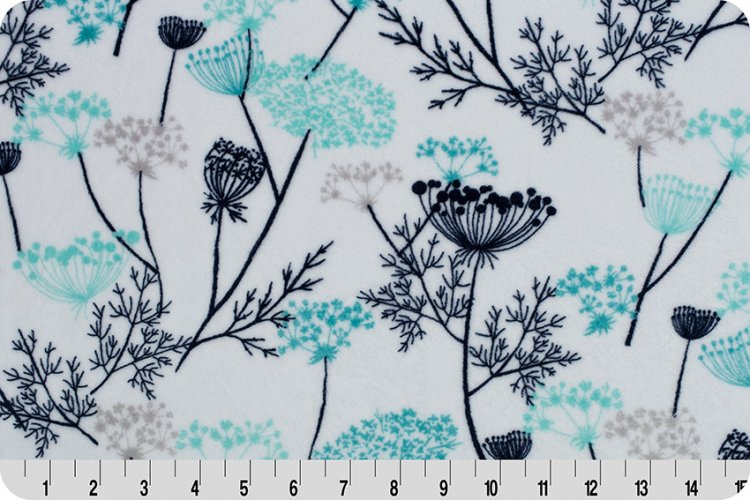 Queen Anne's Lace Cuddle Teal