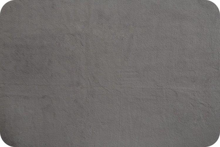Grey Minkie - Solid Cuddle 3 Graphite