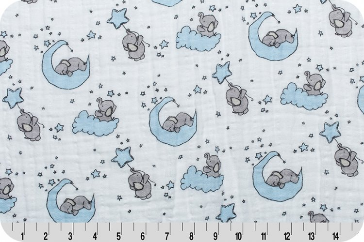 SMD Little One Cotton Embrace Baby Blue