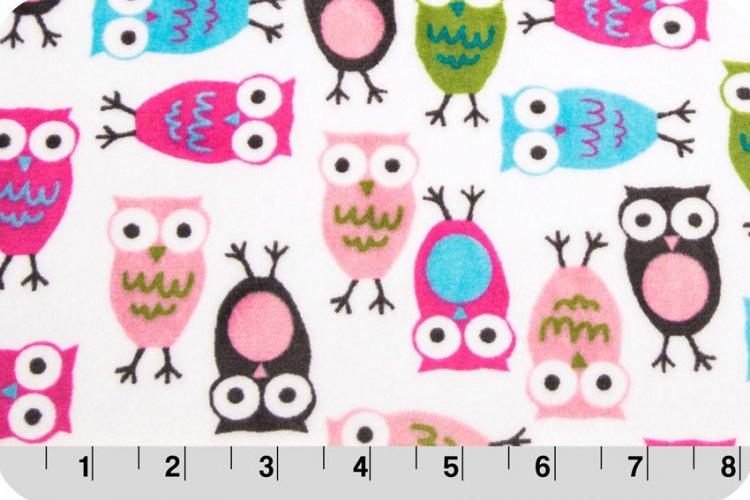 Night Owls Cuddle - Fuchsia