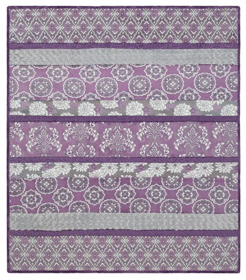 Crazy 8 Cuddle Kit Violeta - DR207855, purple and white