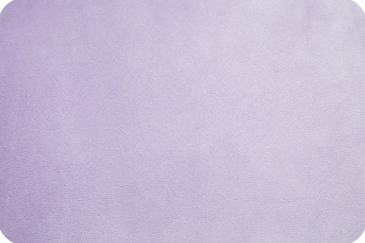 Cuddle Fabric - Solid Lavender 58 Wide