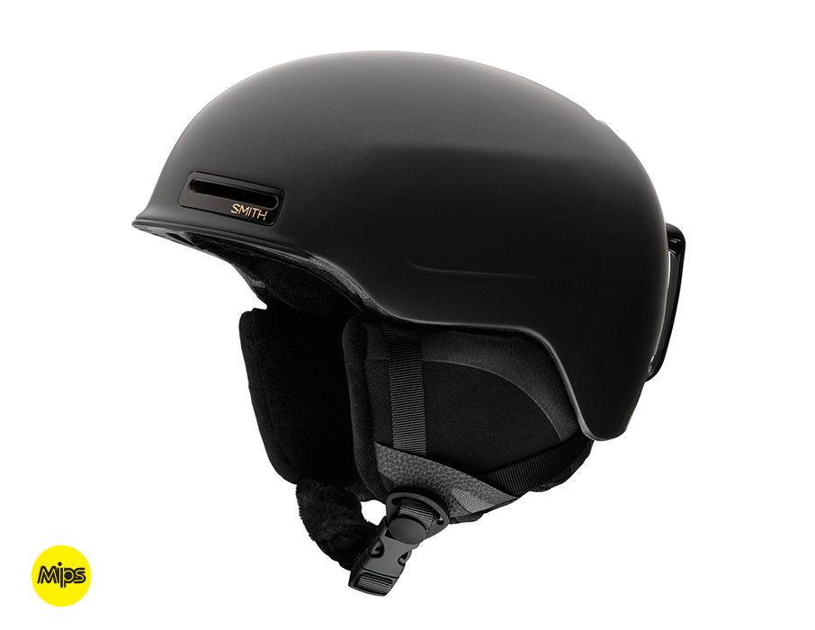 SMITH ALLURE MIPS MATTE BLACK PEARL LARGE