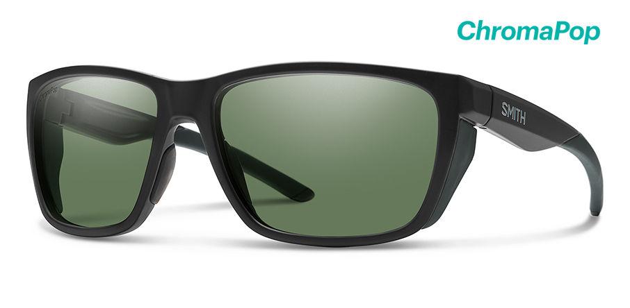 Smith Longfin New Sunglasses Men's Matte Black Frame Matte Black Lens