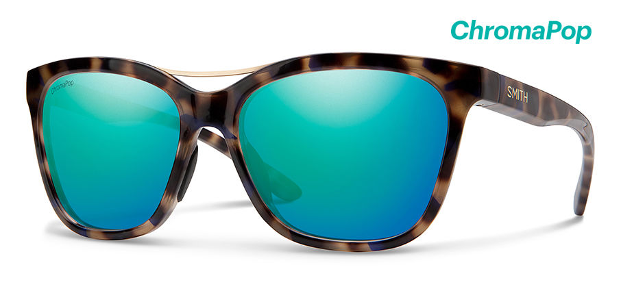 Smith Cavalier New Sunglasses Women's Violet Tort Frame Violet Tort Lens