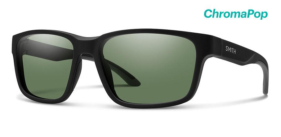 Smith Basecamp New Sunglasses Men's Matte Black Frame Matte Black Lens