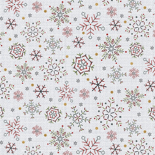 Snowy Magic Snowflakes - Frost