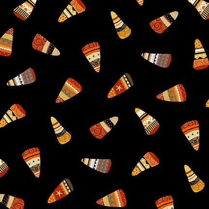 CHEEKYVILLE CANDY CORN 4671 99 BLACK