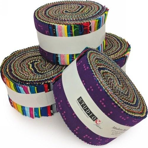 Modern Batiks 2.5 x 42 Strips