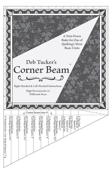 Corner Beam- Tucker ruler