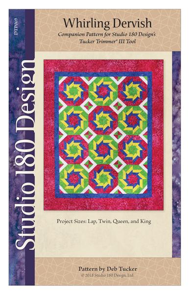 Whirling Dervish Quilt Pattern - Studio 180 Design - Deb Tucker