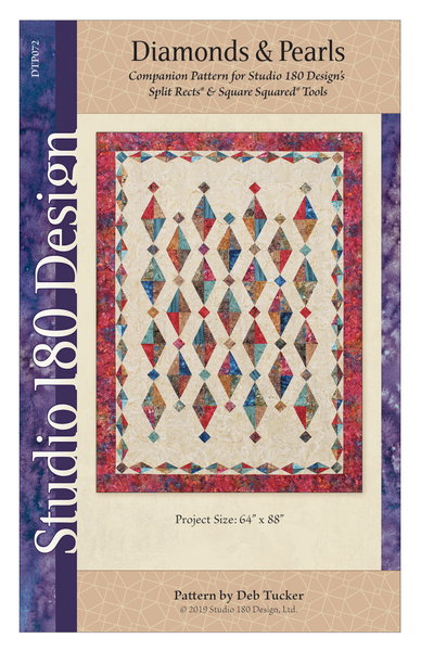 Diamonds and Pearls Quilt Pattern by Deb Tucker - Studio 180 Design