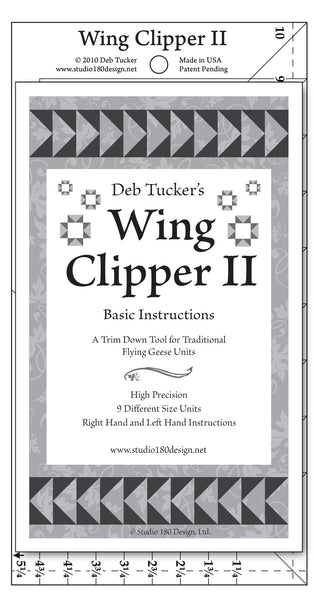 Wing Clipper II Ruler by Deb Tucker
