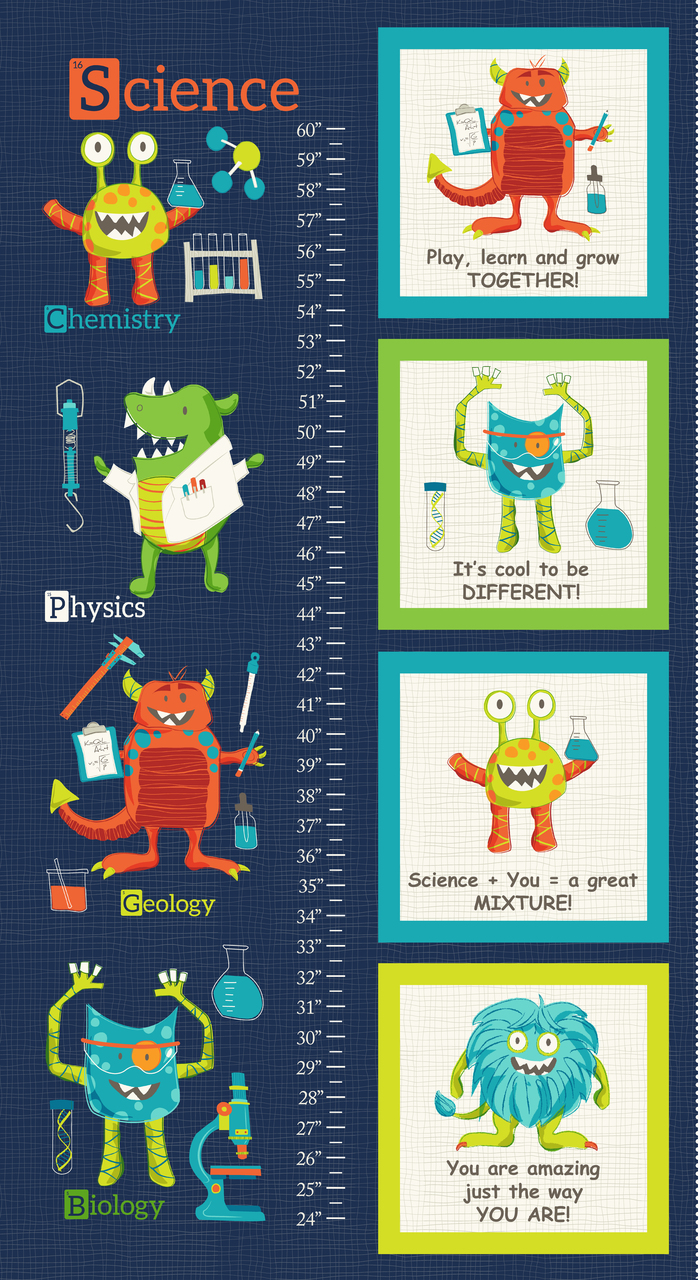 Monster Lab Growth Chart Panel - 4431P-77