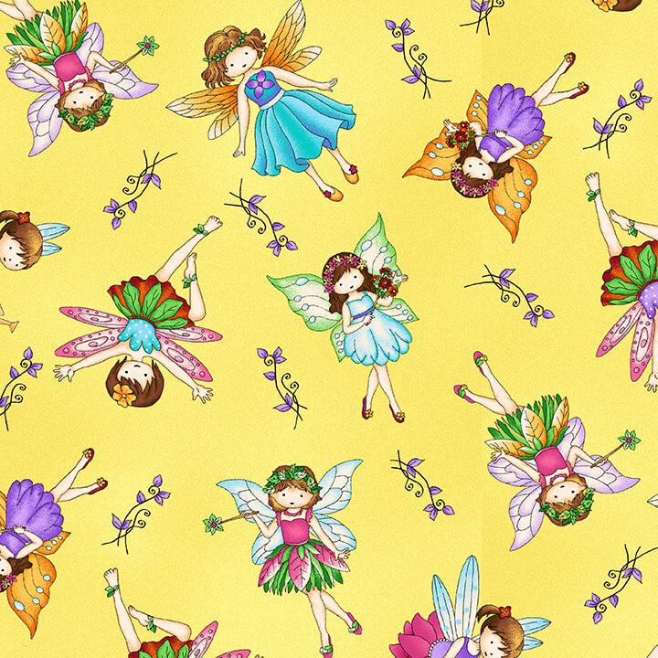 Fairyland Fairies - Yellow