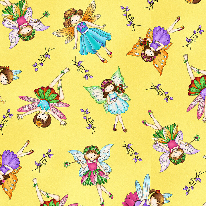 Fairies - Yellow