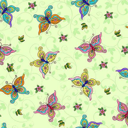 Fairyland Butterflies - Mint