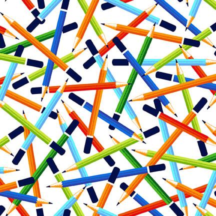 Pencils - White