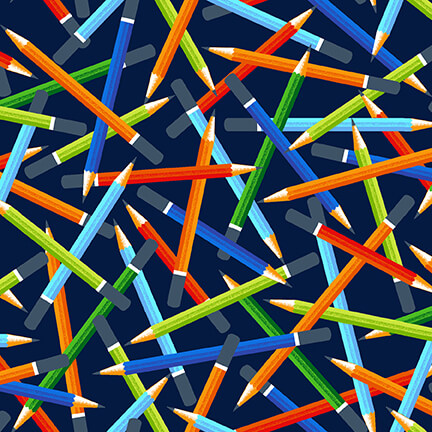 Pencils - Navy