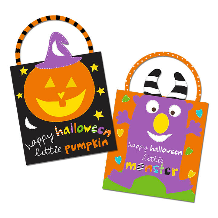 36 Panel Trick or Treat Bags