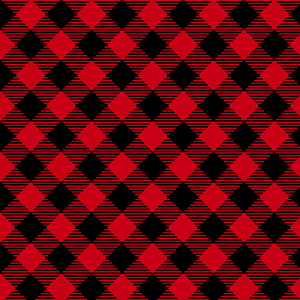 Holiday Road Trip Bias Buffalo Check Red/Black
