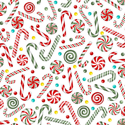 Yuletide-Candy Canes-27-1 White