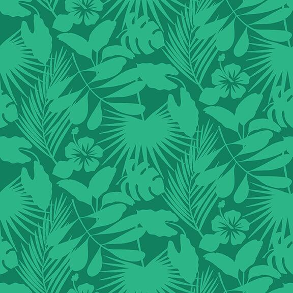 Gone Wild Tropical Foliage Green 4740 66