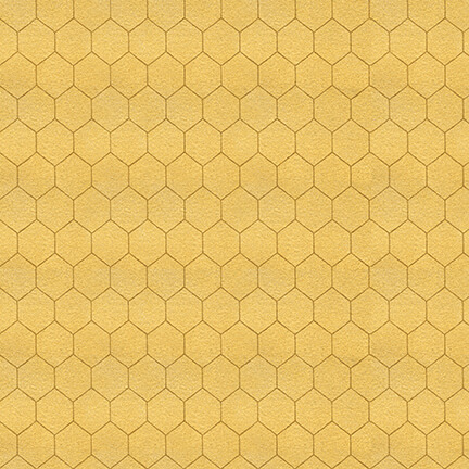 Bee A Keeper - Small Honeycomb - Gold