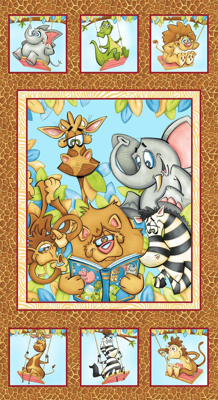 A Jungle Story Panel