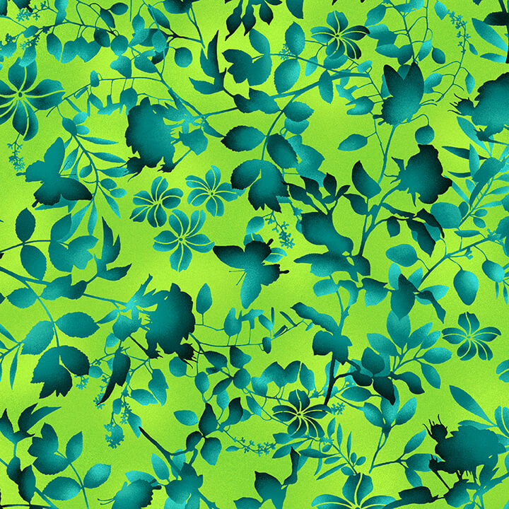 Beauty In Bloom Lime Green