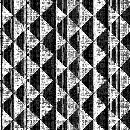 Triangle Geometric Charcoal
