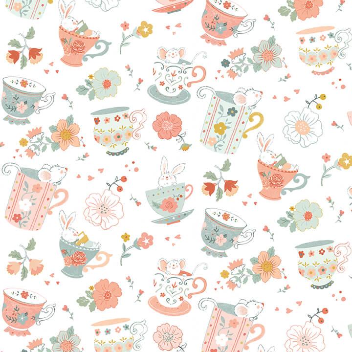 Woodland Teatime 4829-12 White