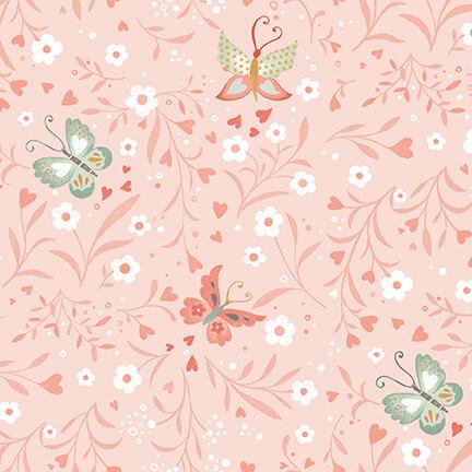 Woodland Teatime 4831-22 Pink