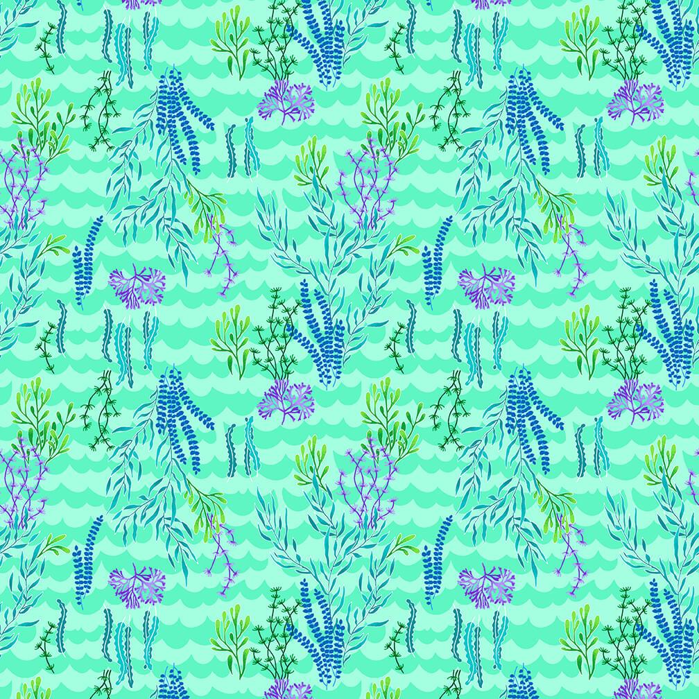 4843-76 Lt.Aqua sea grass
