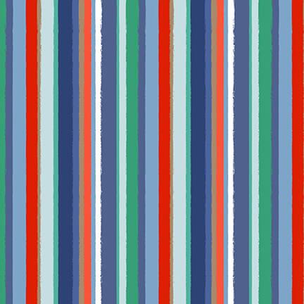 4862-17 Navy/Red stripe