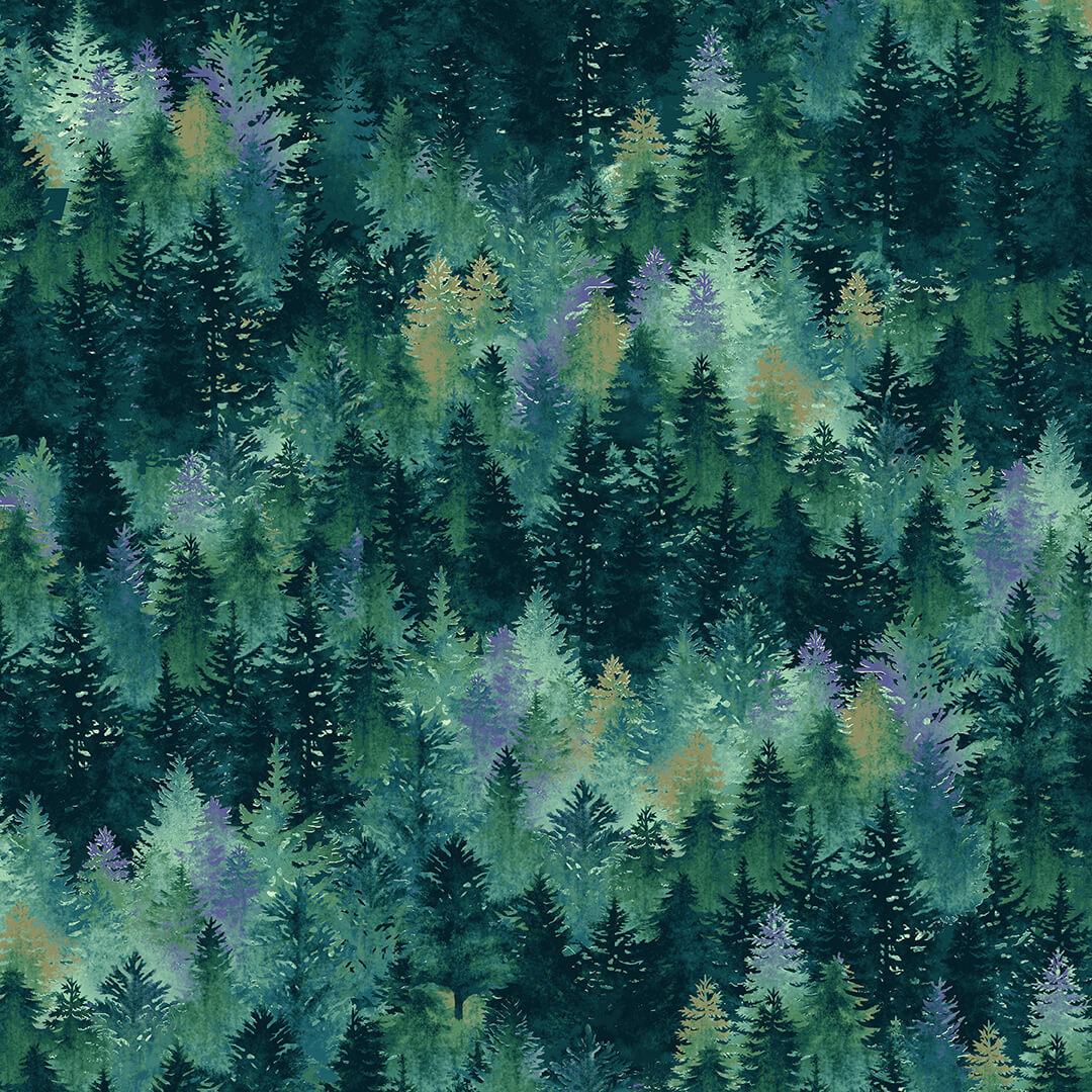 Woodland Wonders 4868-76 Spruce Tree Textures