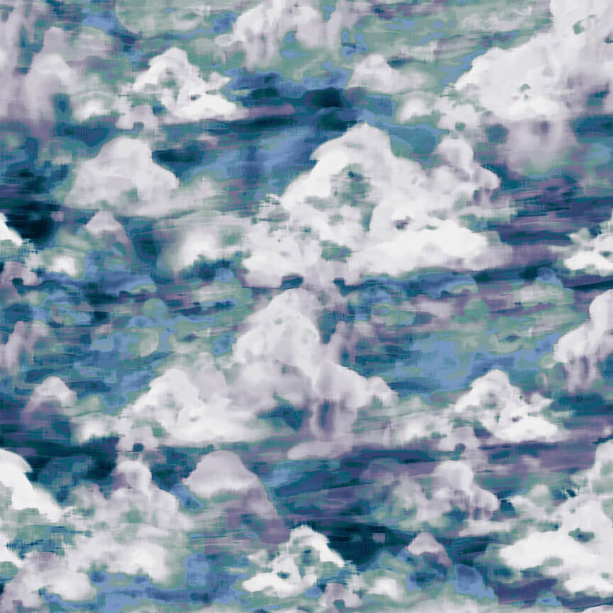 Woodland Wonders 4872-77 Lt. Navy Cloudy Textures
