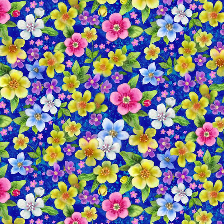 Floral Yardage