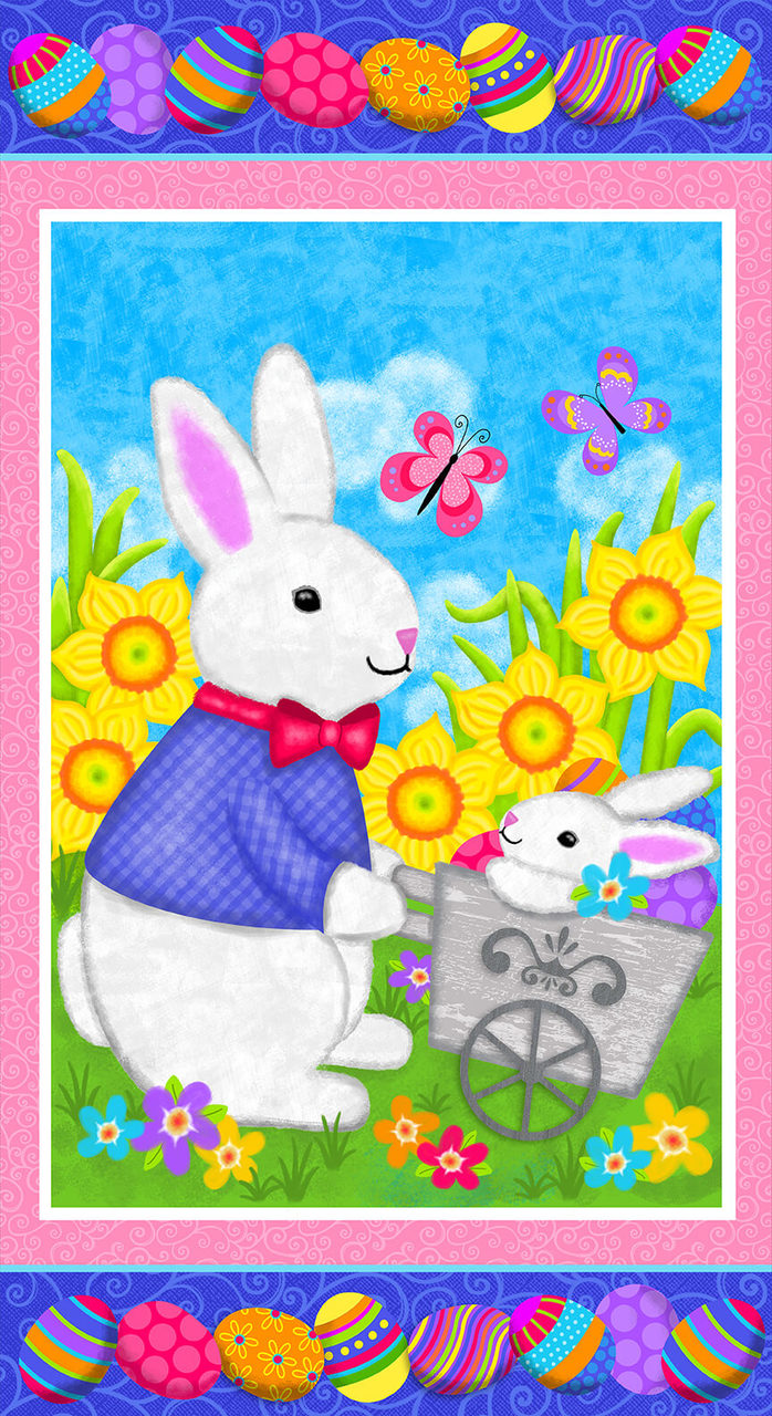 Bright Easter Bunny