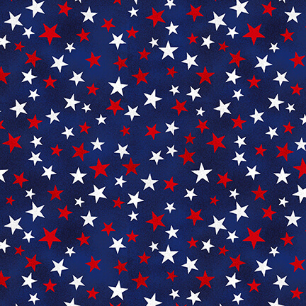 Truckin in the USA Navy Mini Stars designed by Chelsea DesignWorks