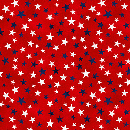 5006-88 Red Star Fabric