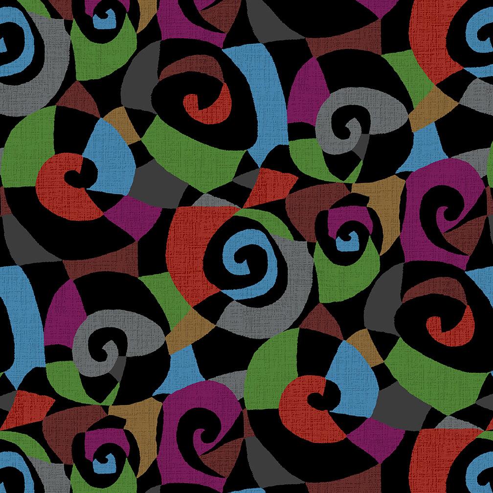 Swirls Retro