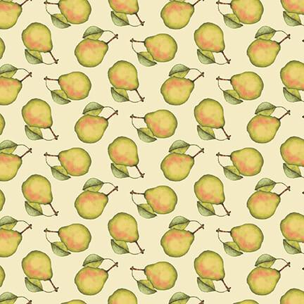Pears on Cream