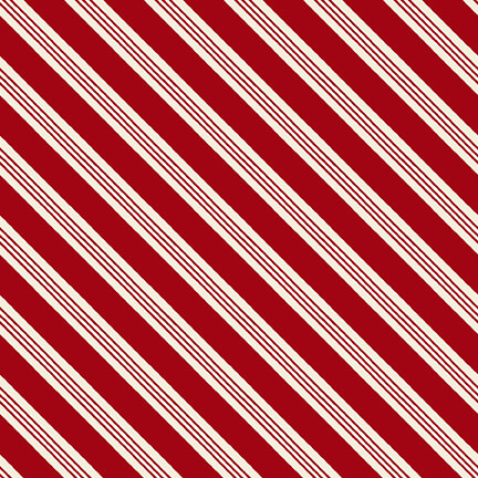 Home For The Holidays Red Stripes