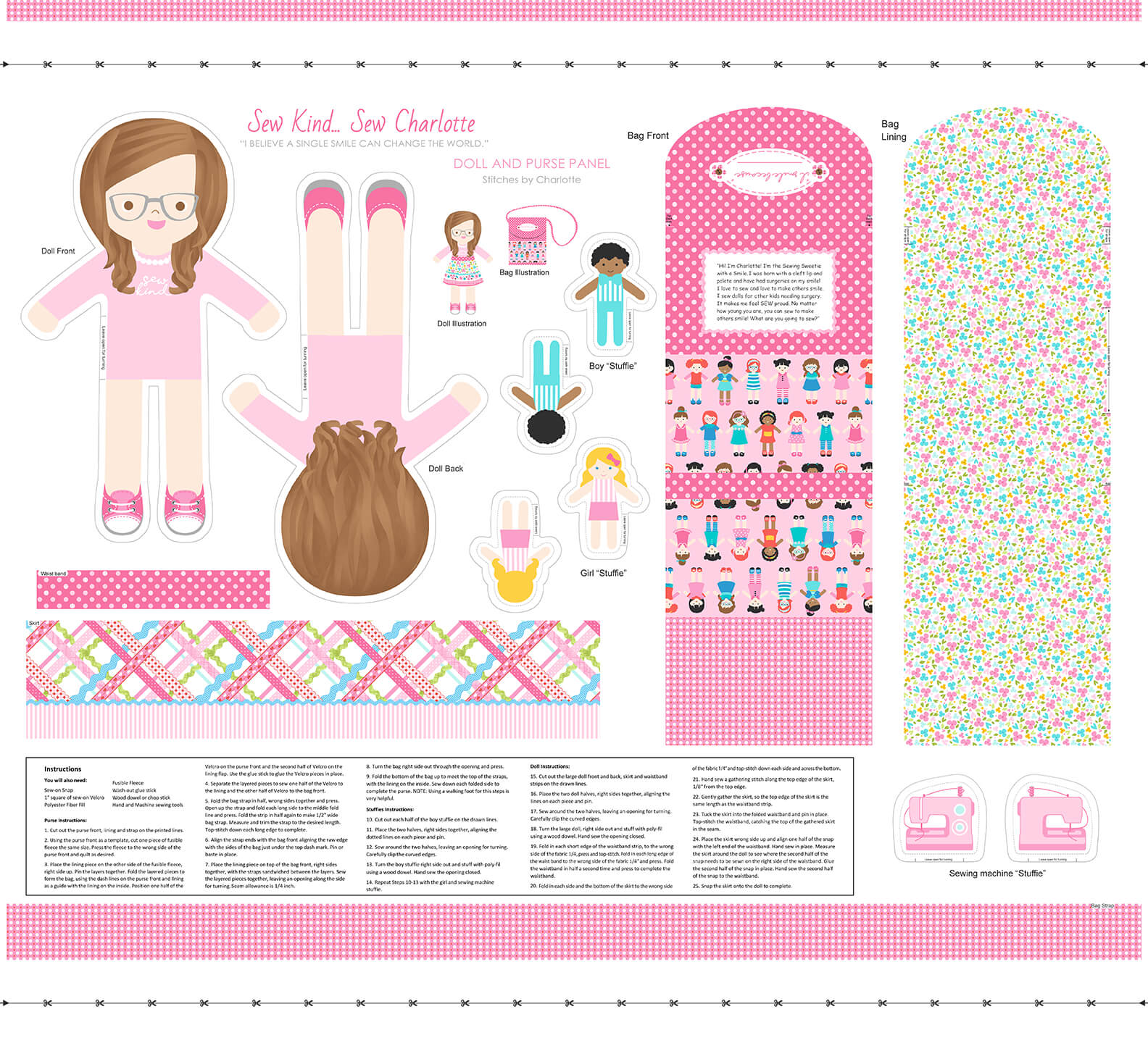 Sew Kind Doll Panel