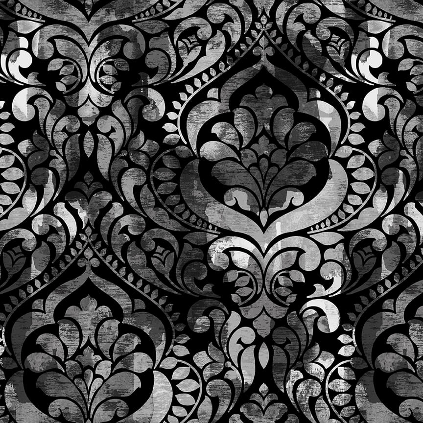 108 Fiorenza - Damask Black