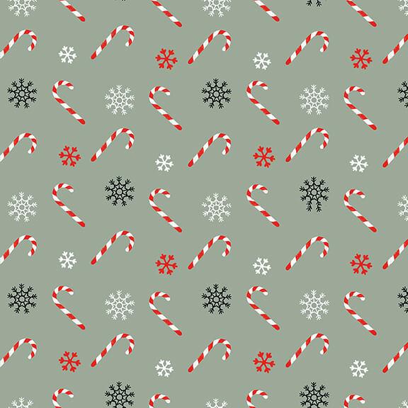 5259-11 Teal Christmas Memories