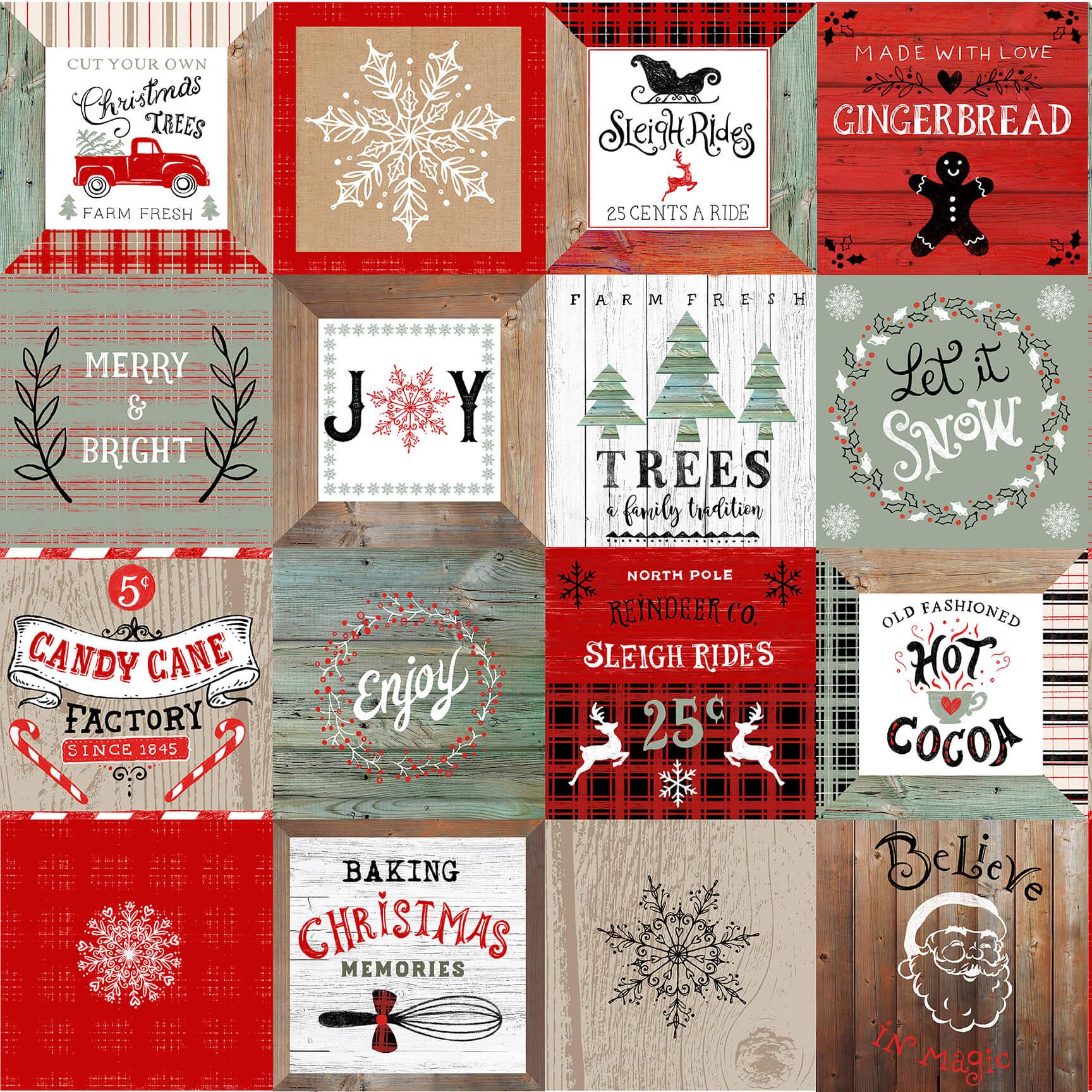 Christmas Memories- 5263-81 Multi