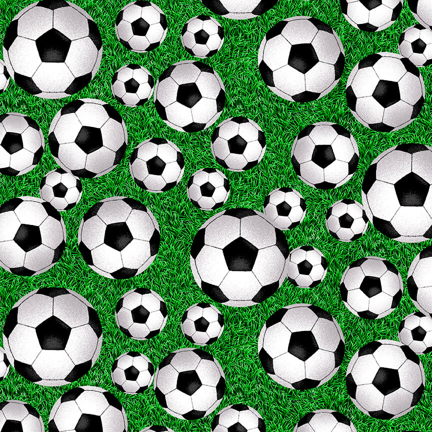 Born To Score - Tossed Soccer Ball - By Studio E